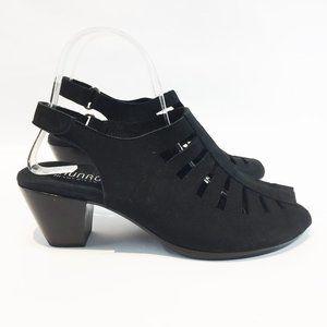 MUNRO 9WW Black Heel Shock Absorbing Heel NEW